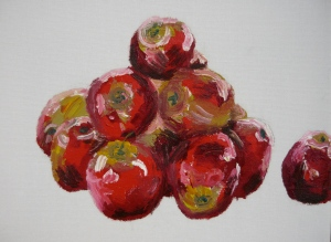 afternoon apples in oils